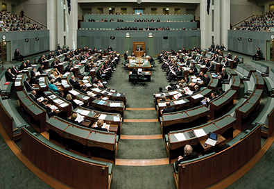 house of representatives canberra Australia